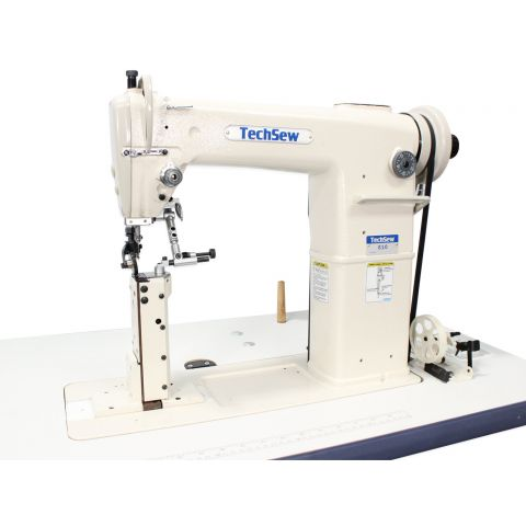 Techsew 810 PRO Post Bed Roller Foot Industrial Sewing Machine