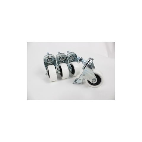 Heavy duty Casters / Wheels for Industrial Sewing Machine Tables (Set of 4)