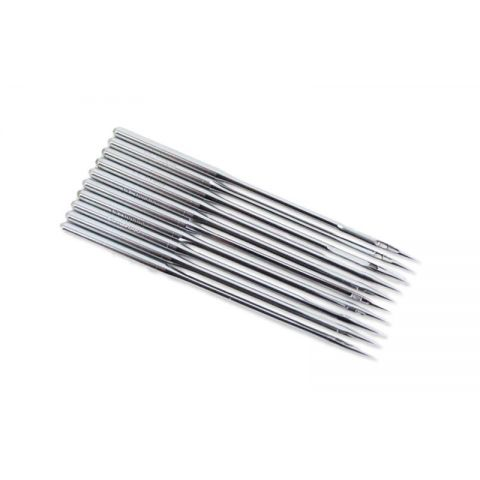 128GAS NEEDLES FOR INDUSTRIAL SEWING MACHINES (BOX OF 100)