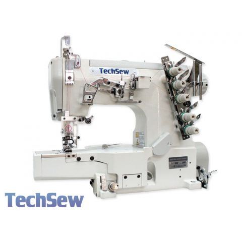 Techsew T450 Cylinder Coverstitch Industrial Sewing Machine