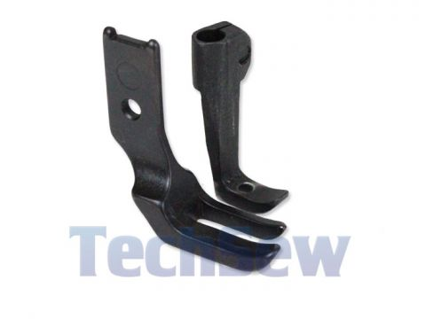 Regular Foot Set (no teeth) for compound walking foot
