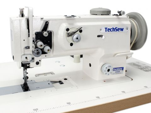 Techsew 1660 Walking Foot Leather Industrial Sewing Machine