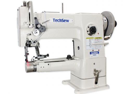 Techsew 2600 PRO Narrow Cylinder Leather Industrial Sewing Machine