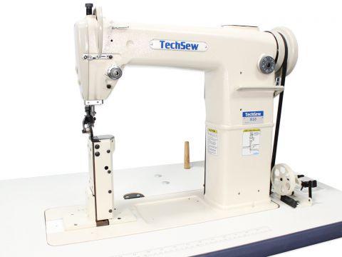 Techsew 810 Post Bed Roller Foot Industrial Sewing Machine