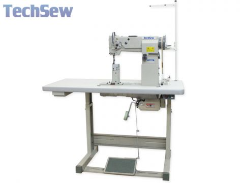 Techsew 860-2 Double Needle Post Bed Walking Foot Industrial Sewing Machine