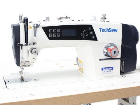 Techsew 9000C Automatic Highspeed Lockstitch Direct Drive Industrial Sewing Machine