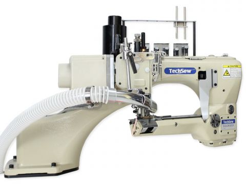 Techsew BG-62G-12MS Feed Off the Arm Flat Seamer Industrial Sewing Machine