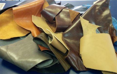 Leather Practice Scraps - 10 lb. Box