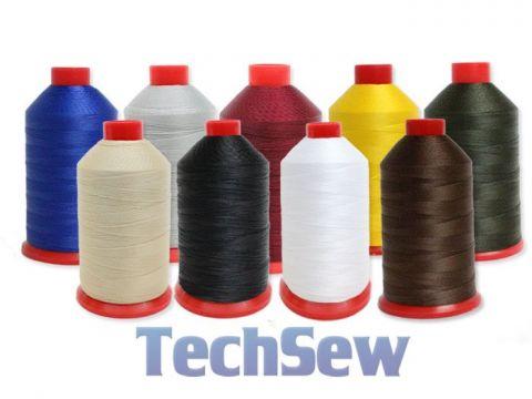 Techsew Premium Bonded Nylon Thread - Size #92 8oz Spool