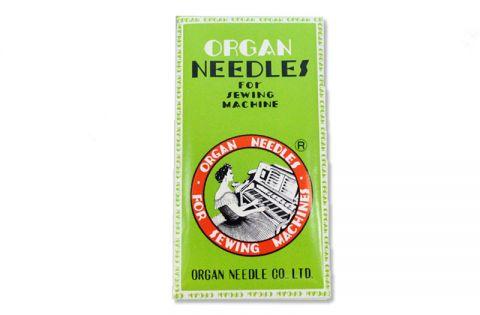 Organ 328LR Needles for Industrial Sewing Machines Techsew 3650HD, GA5-1R