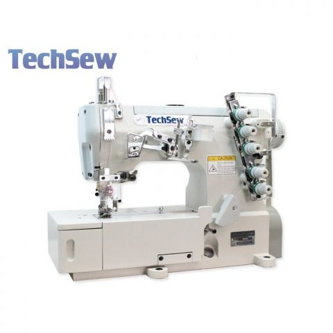 Techsew T350 Flatbed Coverstitch Industrial Sewing Machine