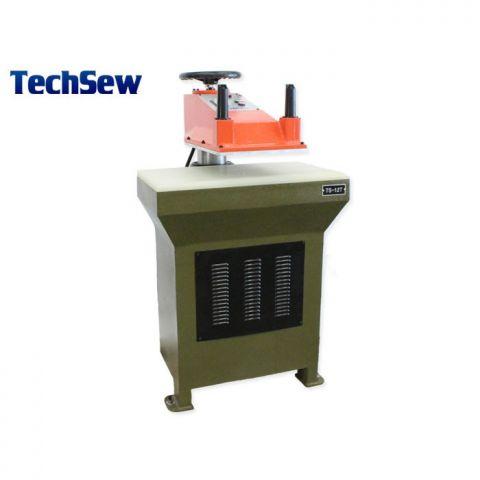 Techsew TS-12 Hydraulic Swing Arm Clicker Press