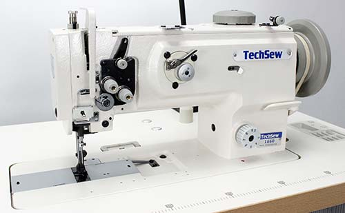 Flatbed sewing machine