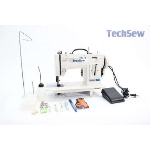 Techsew 611 Portable Walking Foot Straight Stitch / ZigZag Sewing Machine