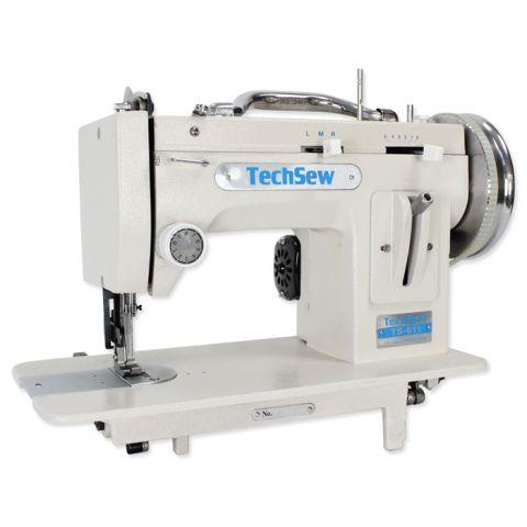 Techsew 611 PRO Portable Walking Foot Straight Stitch / ZigZag Sewing Machine