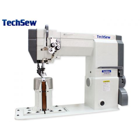Techsew 830-2-R Post Bed Roller Feed Industrial Sewing Machine