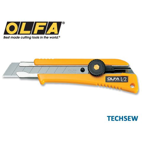 OLFA L-2 Heavy Duty Leather Cutting Knife