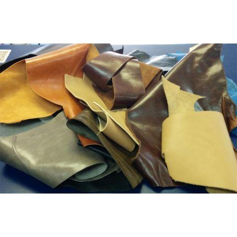 Leather Practice Scraps - 5 lb. Box