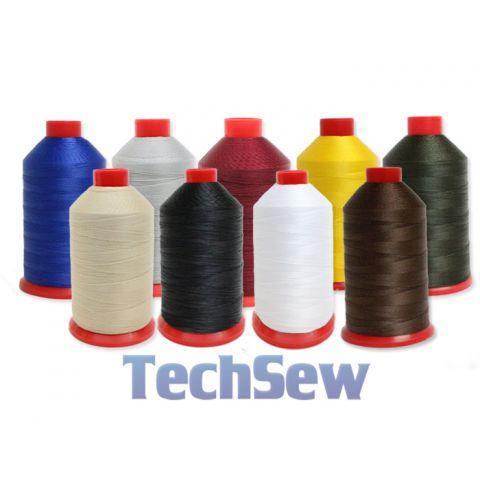Techsew Premium Bonded Nylon Thread - Size #92 16oz Spool