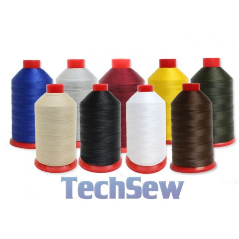 Techsew Premium Bonded Nylon Thread - Size #46 -  8oz Spool