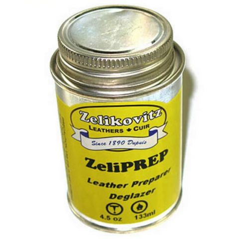 ZeliPREP 4.5 oz Leather Preparer/Deglazer